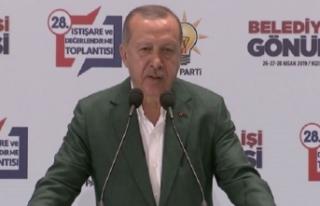 Cumhurbaşkanı Erdoğan'dan 'ya olacağız...