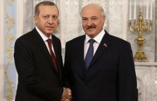 Devlet Başkanı'ndan Cumhurbaşkanı Erdoğan'a...