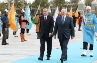 Erdoğan, kritik ismi Beştepe'de resmi törenle...