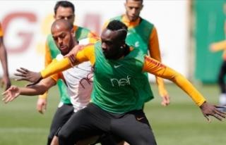 Galatasaray'da Evkur Yeni Malatyaspor maçının...