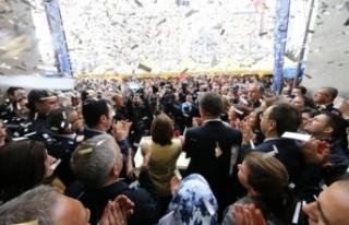 Gaziantep'te seçim sonrası coşku var