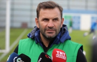 'İlk hedefimiz Sivasspor maçını kazanmak'