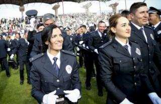 Kadın polis memuru adayı alımı için başvuru...