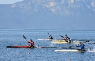 Kanoda Bahar Kupası Durgunsu Yarışları sona erdi