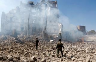 Koalisyon güçlerinden Yemen'e hava saldırısı!