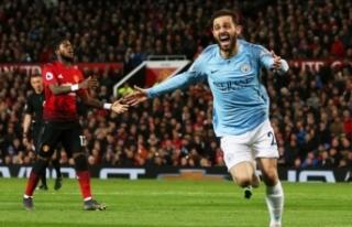 Manchester derbisi City'nin