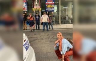 Müslüman kadın Şeyma tek hareketiyle dünyayı...