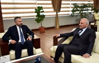 Romanya Büyükelçisi'nden Trabzon Büyükşehir'e...