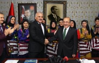 Trabzon'da görev değişimi!