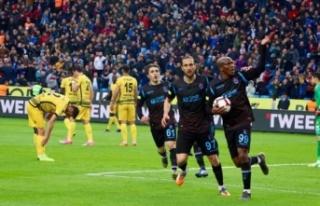 Trabzonspor üst üste 5. maçını kazandı