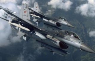 Türk jetlerinden Kuzey Irak'a havaoperasyonu