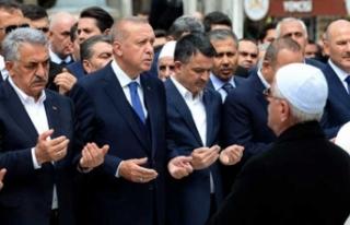 Yazıcı'yı acı gününde Erdoğan yalnız...