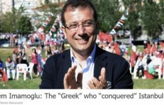 Yunan medyasından Ekrem İmamoğlu'na: İstanbul'u...
