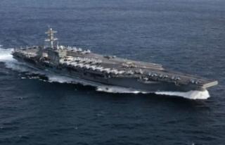 ABD'den İran'a uçak gemili mesaj