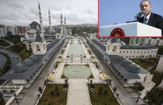 Ankara'da büyük gün! Erdoğan açılışını...