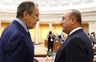 Bakan Çavuşoğlu Rus mevkidaşı Lavrov'la...