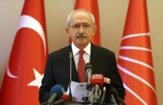 CHP Genel Başkanı Kılıçdaroğlu'ndan şehit...