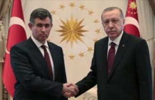 Cumhurbaşkanı Erdoğan, Metin Feyzioğlu'nu...
