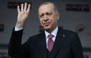 Cumhurbaşkanı Erdoğan'dan AK Partililere 4...