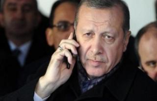 Cumhurbaşkanın Erdoğan şehit babasını aradı:...