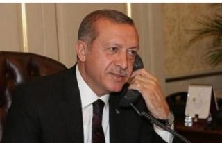 Erdoğan'dan önemli telefon görüşmeleri