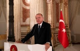 Erdoğan'dan 'İstanbul'un Fethi' mesajı