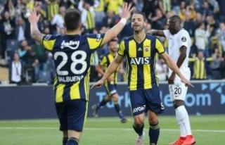 Fenerbahçe Akhisarspor'u küme düşürdü