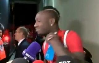 Galatasaray'da Diagne şoku! TFF görüntüleri...
