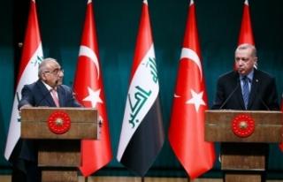 'Irak ile askeri iş birliği yapılmasının...