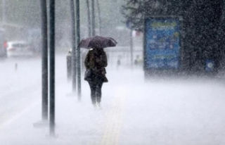 Meteoroloji iki bölgeyi uyardı! Kuvvetli yağış...