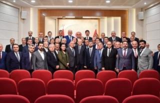 MHP il başkanları İstanbul gündemiyle toplandı