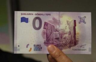 Şanlıurfa'daki dünya mirası Euro'ya basıldı