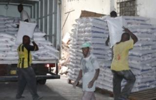 TİKA'dan afetzedelere gıda yardımı