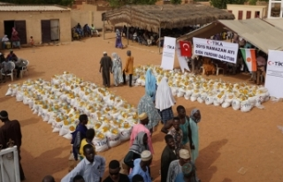 TİKA'dan Nijer'de gıda yardımı