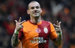 Wesley Sneijder şampiyonluk için geliyor!