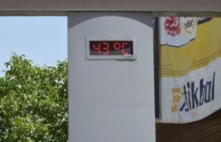 Yaza girmeden termometreler 42 dereceyi gösterdi
