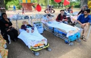ALS hastaları piknikte buluştu