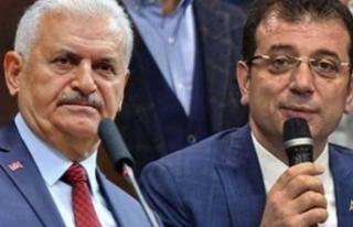 'Binali Yıldırım, Ekrem İmamoğlu ile yayına...