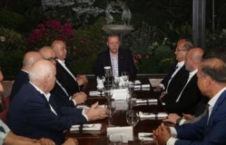 Cumhurbaşkanı Erdoğan'dan taziye ziyareti