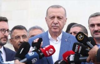 Cumhurbaşkanı Erdoğan: 'Bu hakları alakası...