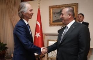 Dışişleri Bakanı Çavuşoğlu'ndan diplomasi...
