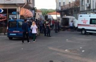 Edirne'de göçmenleri taşıyan araç kaza yaptı:...