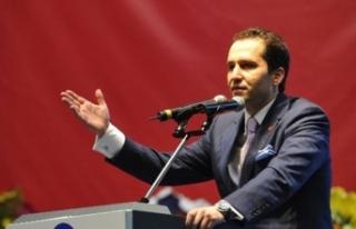 Fatih Erbakan'dan çifte standart tepkisi
