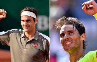 Fransa Açık'ta Nadal ve Federer yarı finalde