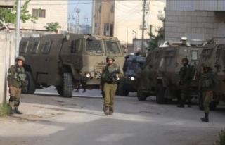 İsrail güçleri Batı Şeria'da 1 Filistinliyi...