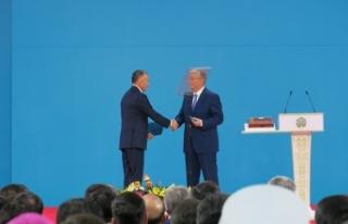 Kazakistan'ın yeni cumhurbaşkanı yemin etti