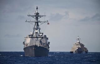 Körfez'de sular ısınıyor! ABD savaş gemisini...