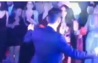 Mesut Özil Amine Gülşe çiftinin kına gecesi sosyal...