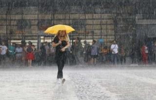 Meteoroloji alarm verdi! Şiddetli yağış fena vuracak