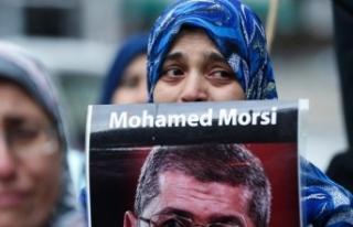 Mursi'nin defnedildiği yer görüntülendi!